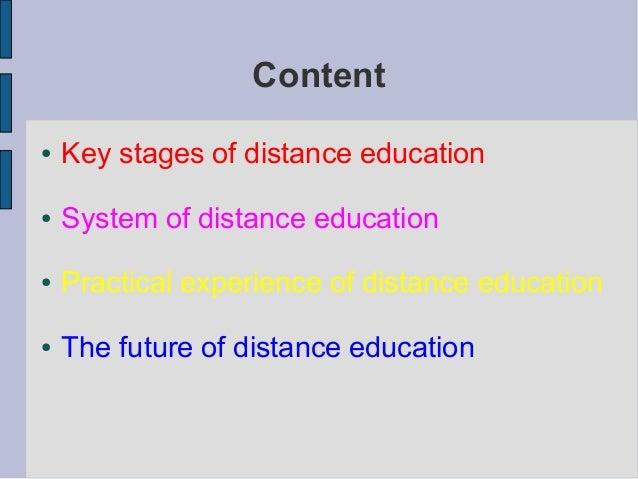 Prezentace   distance education Slide 2