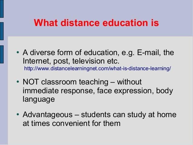 Prezentace   distance education Slide 3