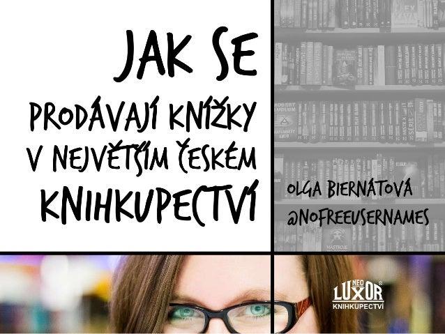 Jak se prodávají knížky v největším českém knihkupectví