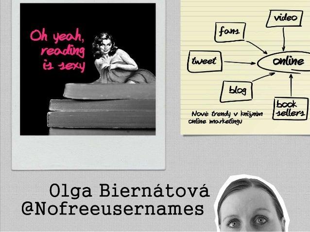 Nové trendy v knižním online marketingu