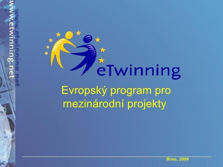 Evropský program pro mezinárodní projekty