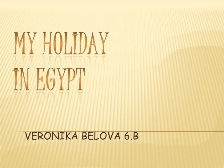 VERONIKA BELOVA 6.B