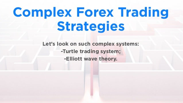 Complex options trading strategies