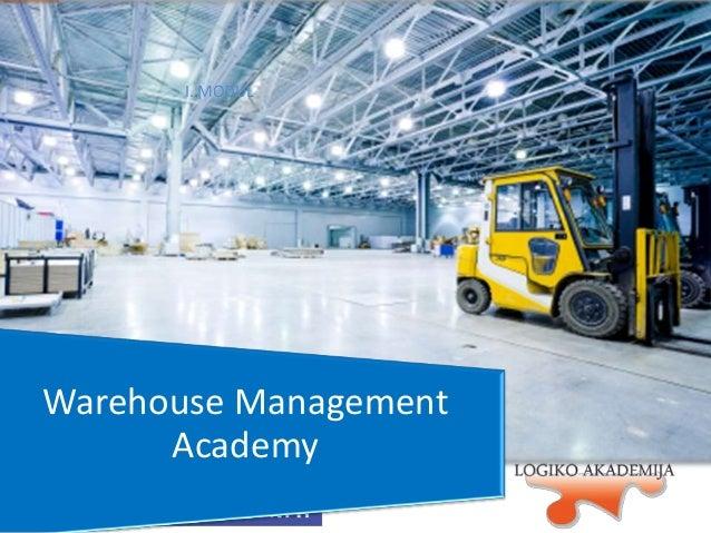 I. MODUL  Warehouse Management Academy