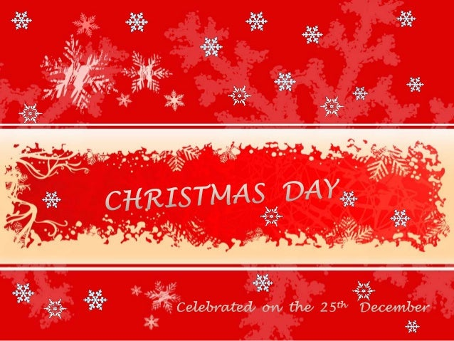 Many Christians go to Church to sing carols and to celebrate the birth of Jesus on Christmas Day
