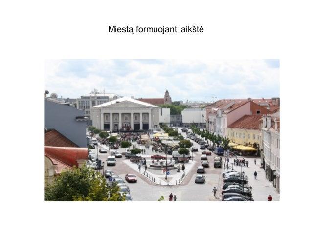 Miestą formuojanti aikštė