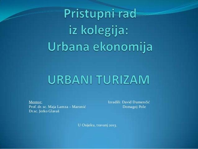 online upoznavanje urbanih