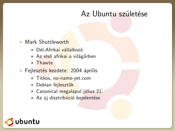 Ubuntu development Slide 2