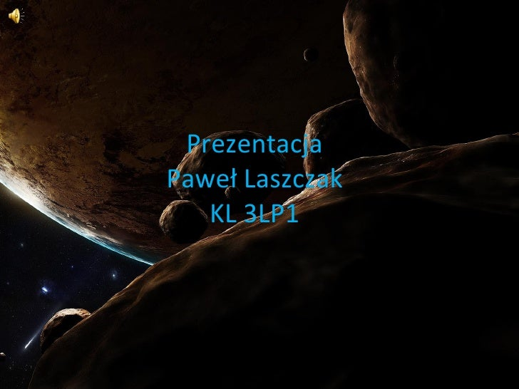Prezentacja Paweł Laszczak KL 3LP1