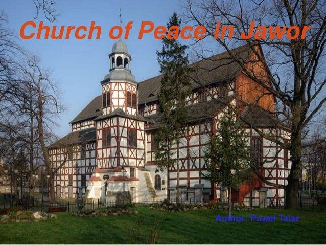 Church of Peace in Jawor Author: Paweł Talar