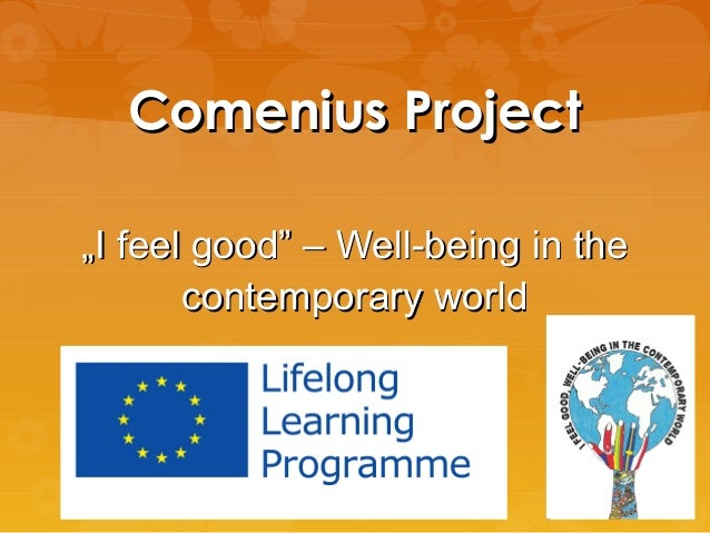 """Comenius Project """"I feel good"""" – Well-being in the contemporary world"""