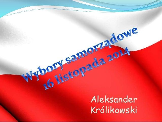 Aleksander  Królikowski
