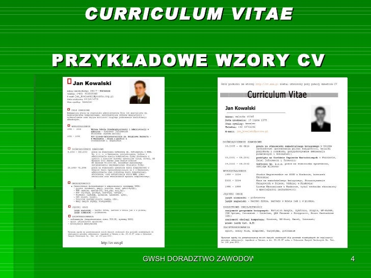 Prezentacja Cv