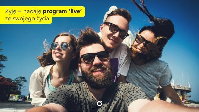 "Snapchat Instant. ""Żyje"", nadaje program live. (FENOMEM) Slide 3"