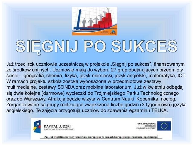 Część egzaminu Średni wynik uzyskany przez szkołę w gminie w województwie Część humanistyczna – język polski 66,3% 61,5% 5...