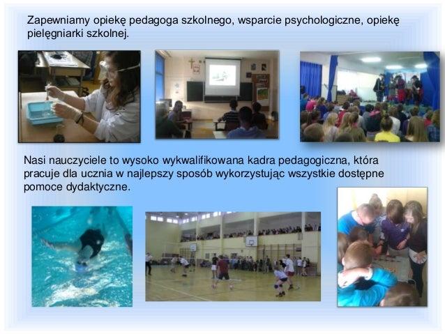 Zapewniamy naukę w estetycznych klasach zaopatrzonych w pomoce dydaktyczne