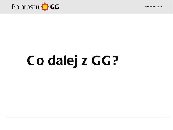infoSh are 201 2C o dalej z GG?