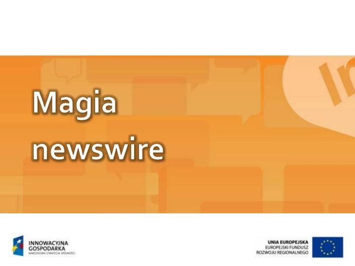 Magia<br />newswire<br />