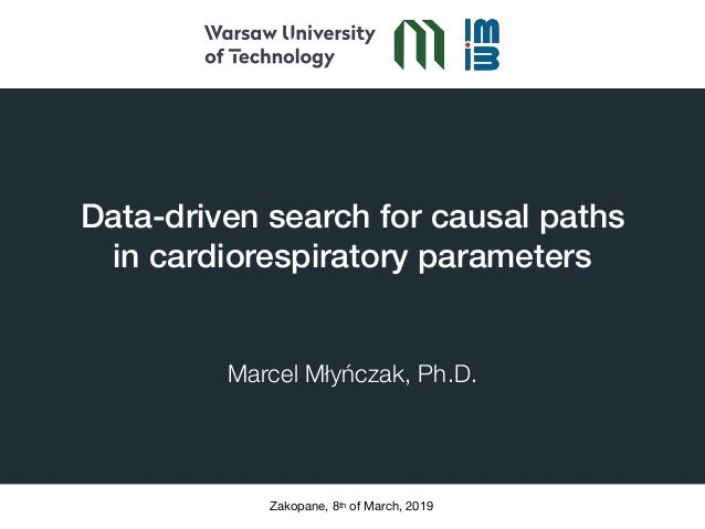 Data-driven search for causal paths 