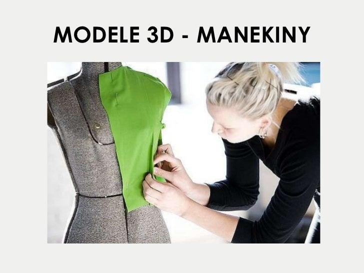 MODELE 3D - MANEKINY