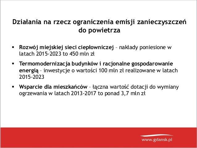 Smog w Gdańsku? Prezentacja z konferencji prasowej 28.03.2018 Slide 3