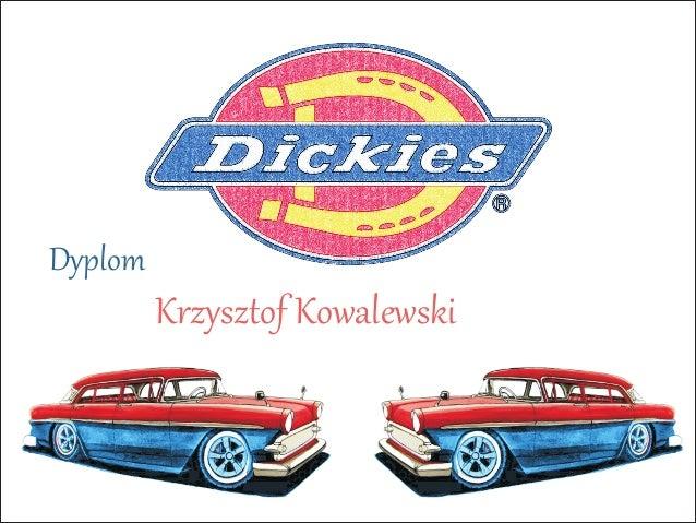 Krzysztof Kowalewski Dyplom