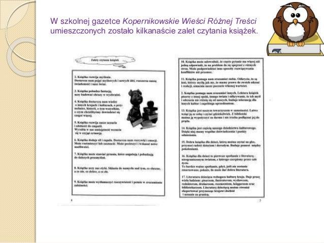 Prezentacja Książki Naszych Marzeń W Sp 9 Dzierżoniów