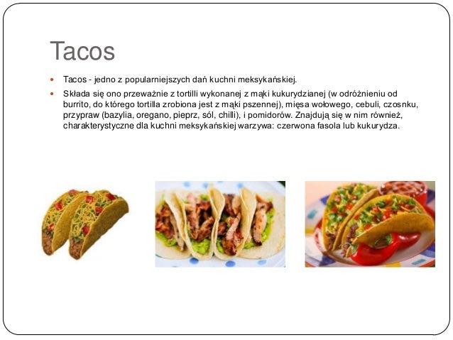 Prezentacja Kuchnia Meksykanska