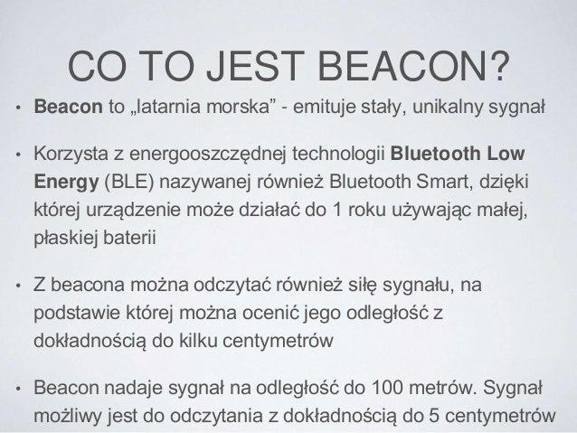 Linteri - rozwiązania iBeacon dla handlu Slide 3