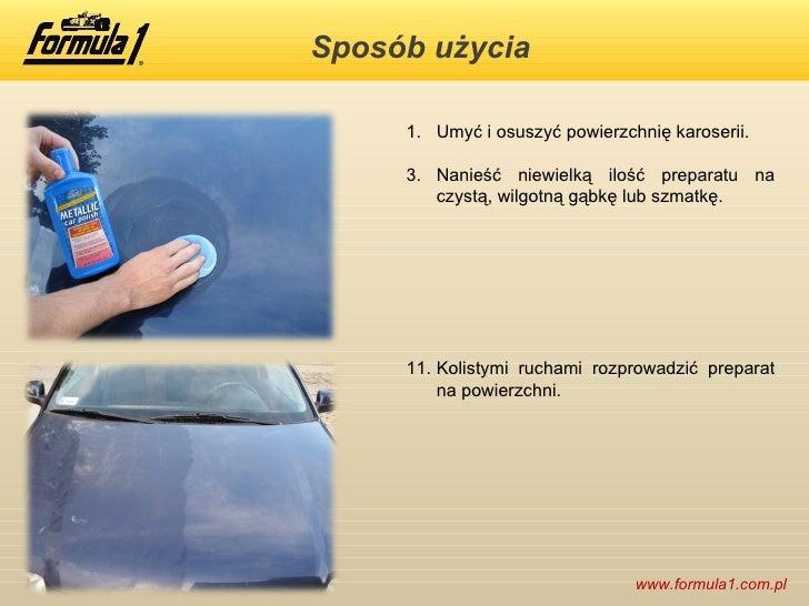 formula 1 metallic car polish nablyszcza lakier metalizowany. Black Bedroom Furniture Sets. Home Design Ideas