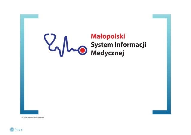 Małopolski System Informacji Medycznej