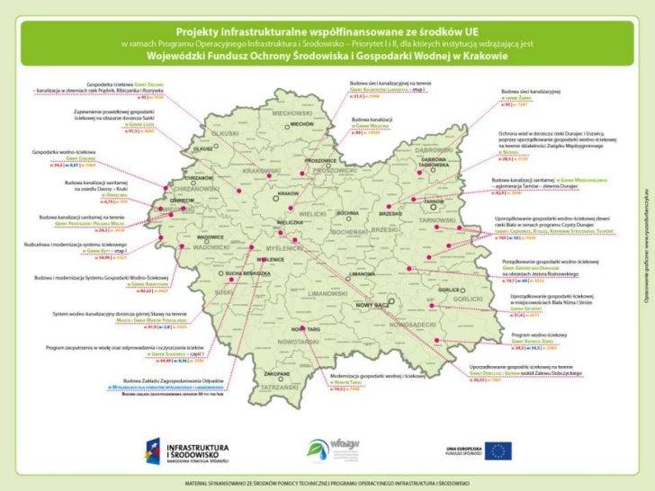 nowe LOGOWojewódzkiego Funduszu Ochrony Środowiska i Gospodarki Wodnej w Krakowie