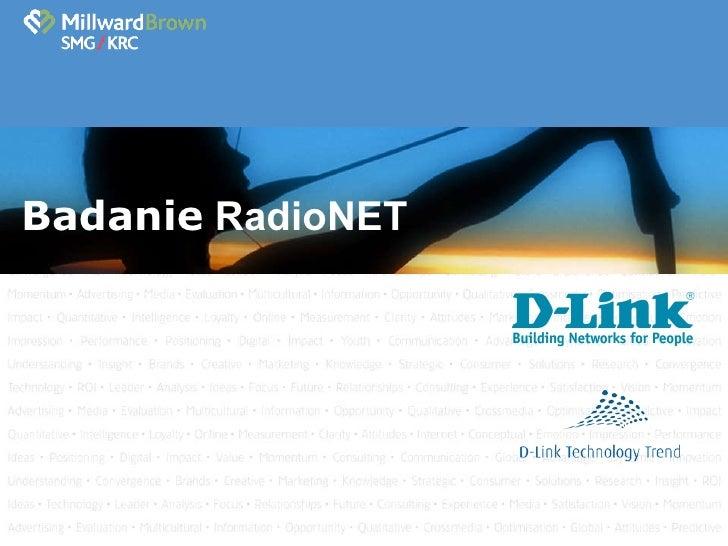 Badanie  RadioNET