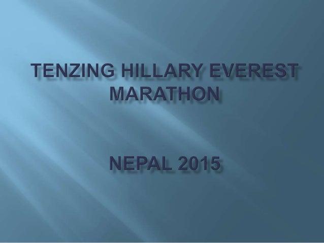 2014 rok * Start w Tenzing Hillary Everest Marathon, 8 miejsce open okraszone rekordem trasy zawodników zagranicznych, 4:3...