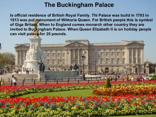 The Buckingham Palace The Royal Family Ukasz Koremba