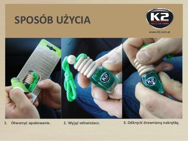 Odświeżacz powietrza K2 VENTO - z drewnianym korkiem, 10 unikalnych kompozycji zapachowych Slide 3