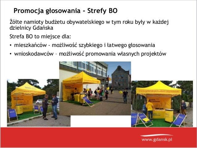 Prezentacja wyników Budżetu Obywatelskiego 2018 w Gdańsku Slide 3