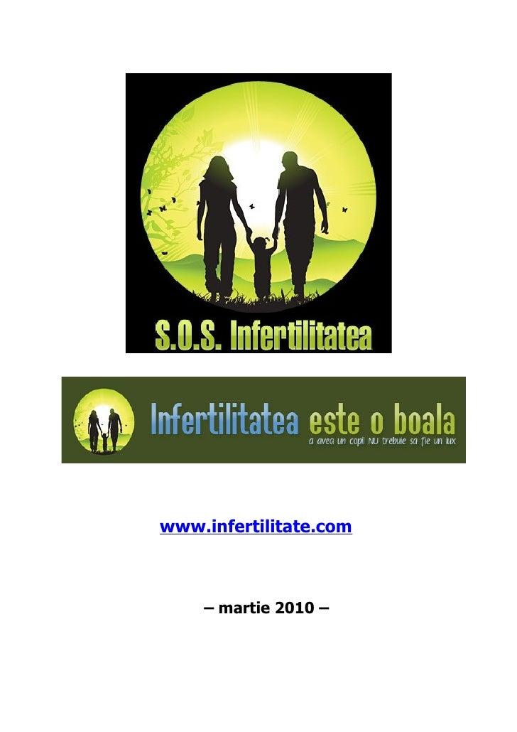 www.infertilitate.com        – martie 2010 –