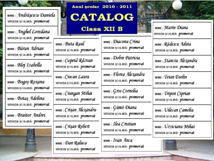Catalogul