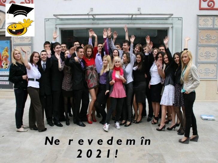 Ne revedem  în 2021!