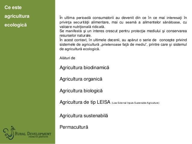 Agricultura ecologică în județul Suceava Slide 2