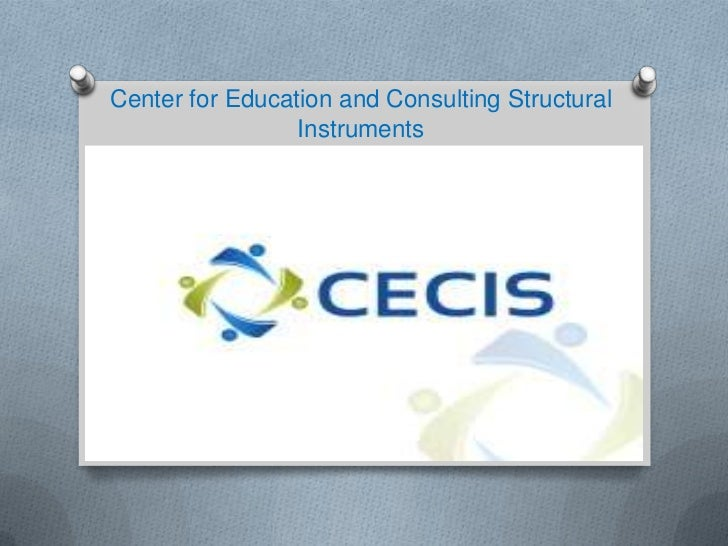 Center for Education and Consulting Structural Instruments<br />