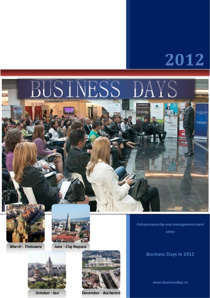 2012                                                              Entrepreneurship and management event                   ...
