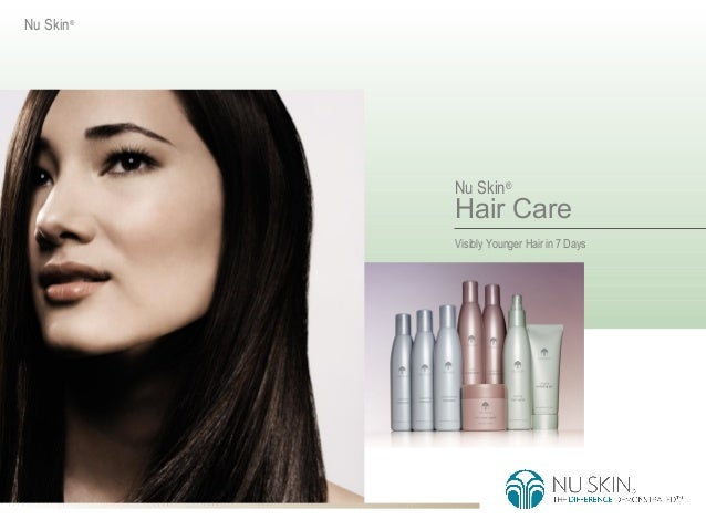 Nu Skin®           Nu Skin®           Hair Care           Visibly Younger Hair in 7 Days