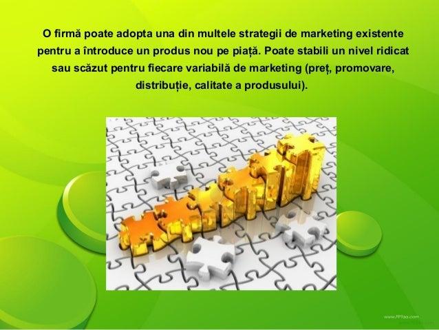 Strategii de produs exemple