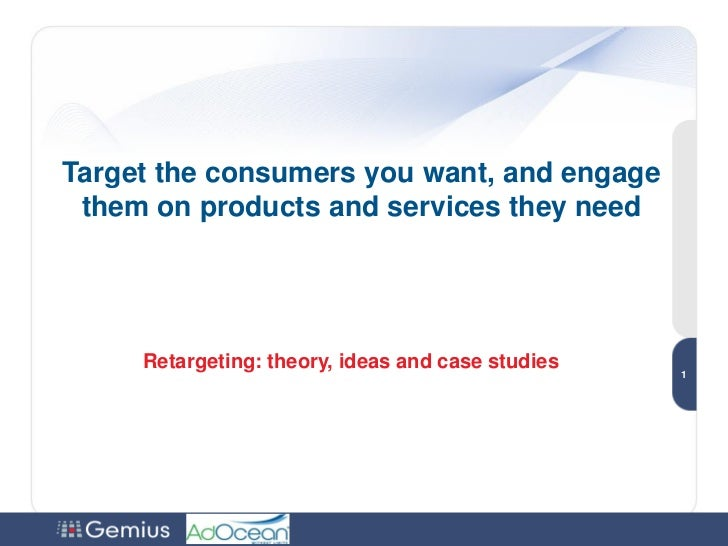 Target the consumers you want, and engage them on products and services they need                                         ...