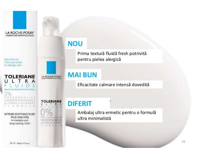 STUDII CLINICE ULTRA TOLERANȚĂ Testat pe piele alergică Testat pe piele predispusă la atopie Testat pe pielea sensibilă a ...