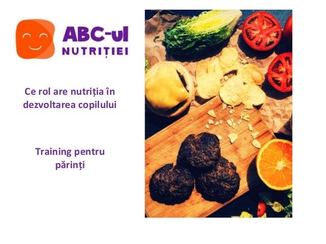 functia de nutritie
