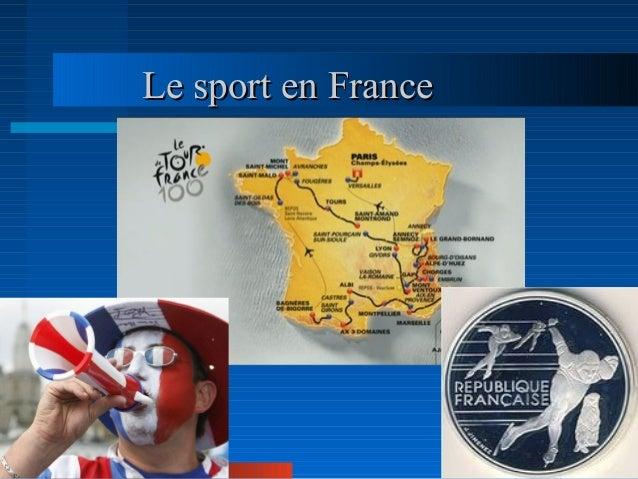 Le sport en FranceLe sport en France