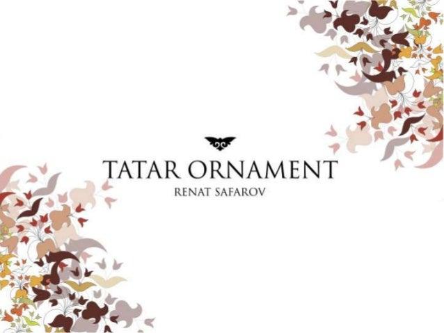 'Xi?  TATAR ORNAMENT  RE NAT SAFAROV
